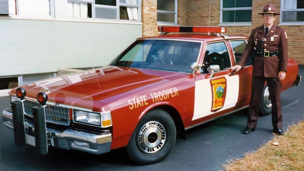 1987 chevrolet caprice полиция