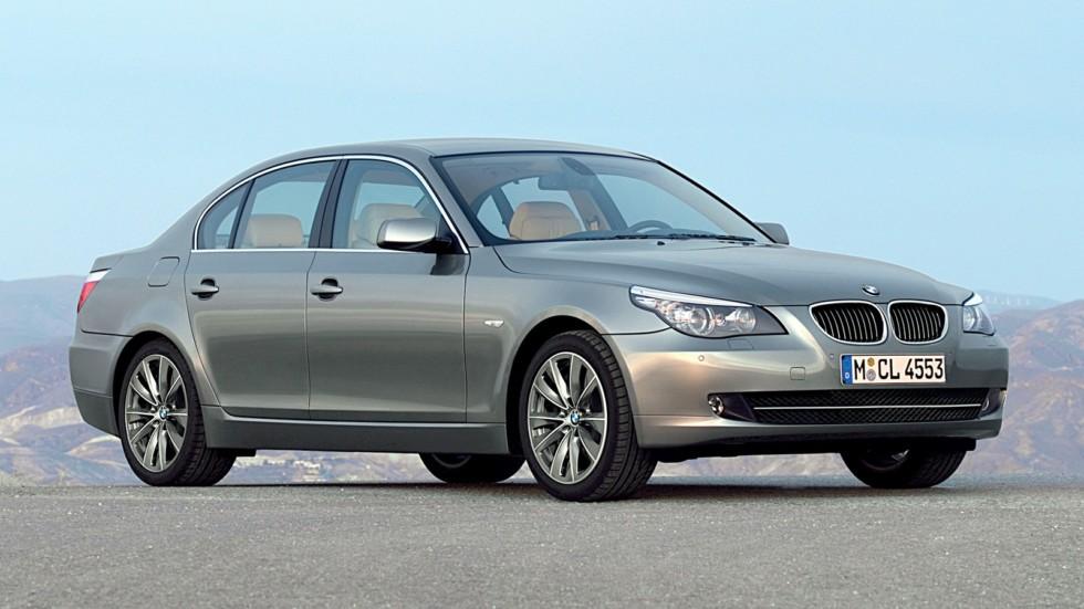BMW (E60) вид три четверти