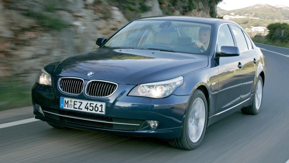 BMW (E60) на ходу