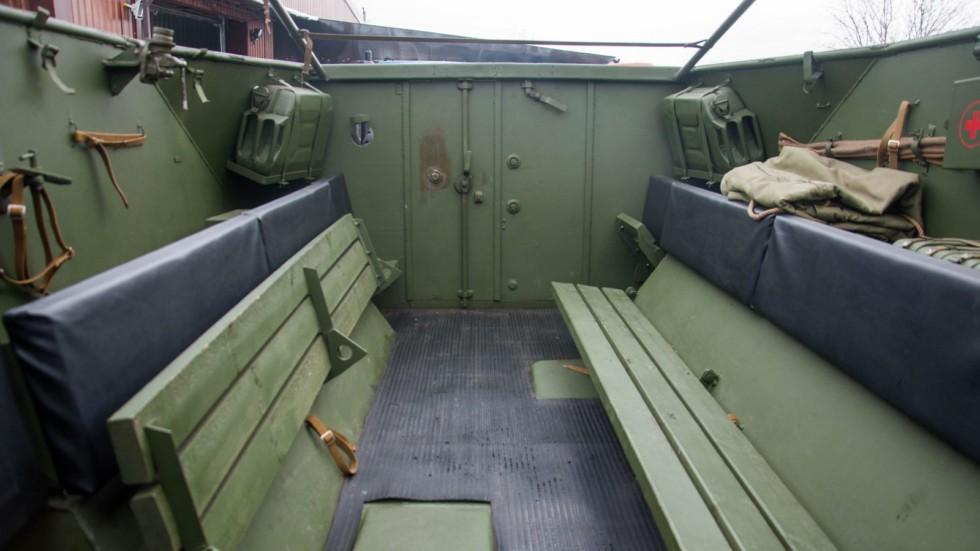 БТР 152В интерьер в кабине