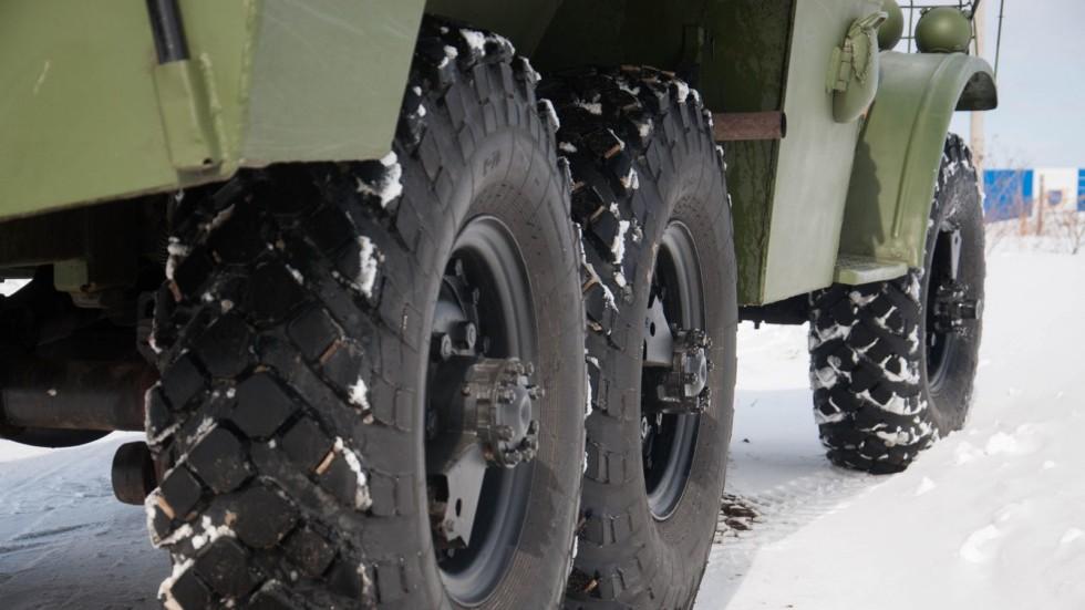 БТР 152В колеса