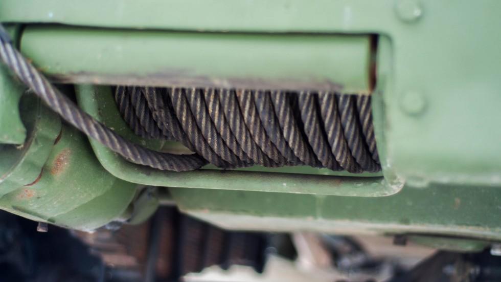 БТР 152В лебедка