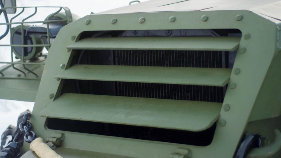 БТР 152В жалюзи на радиаторе