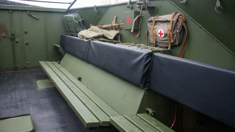 БТР 152В сидения в кабине