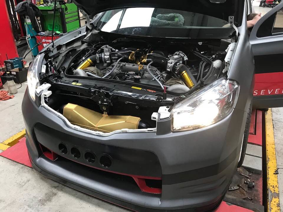 На фото: Severn Valley Motorsport Nissan Qashqai-R