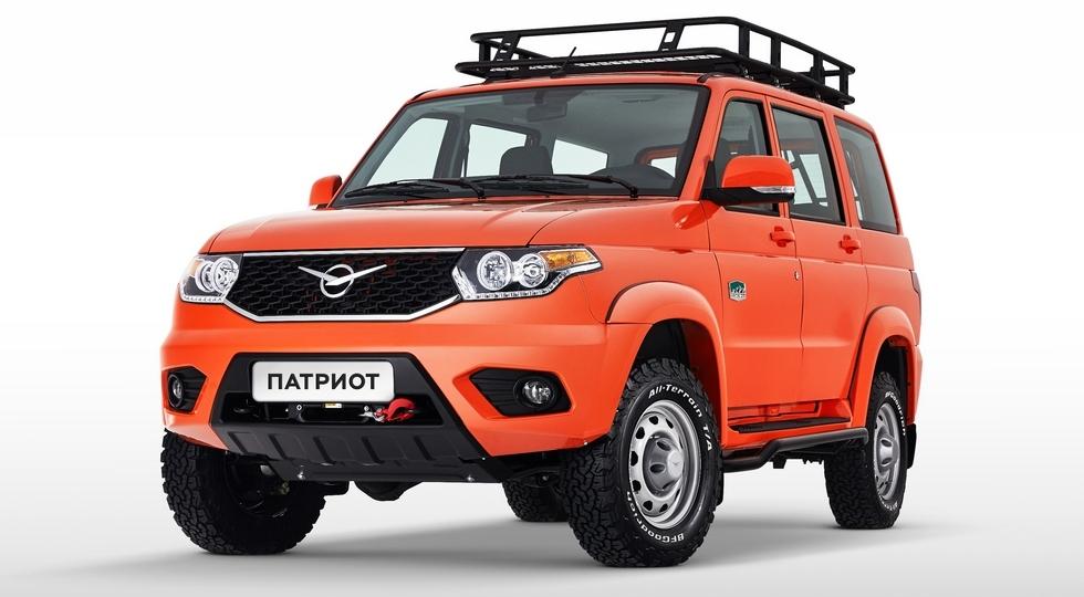 Экспедиционная спецверсия УАЗ Патриот