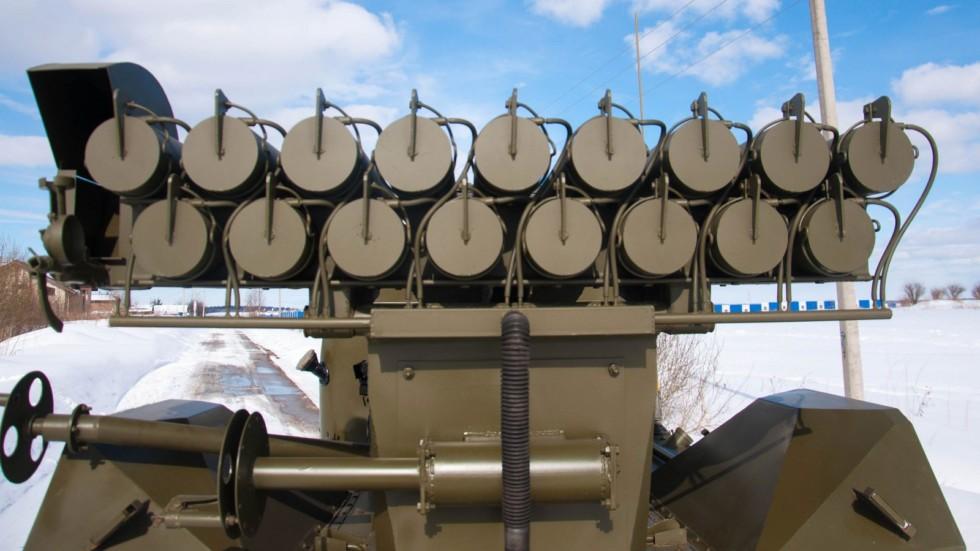 ГАЗ 63 ракеты