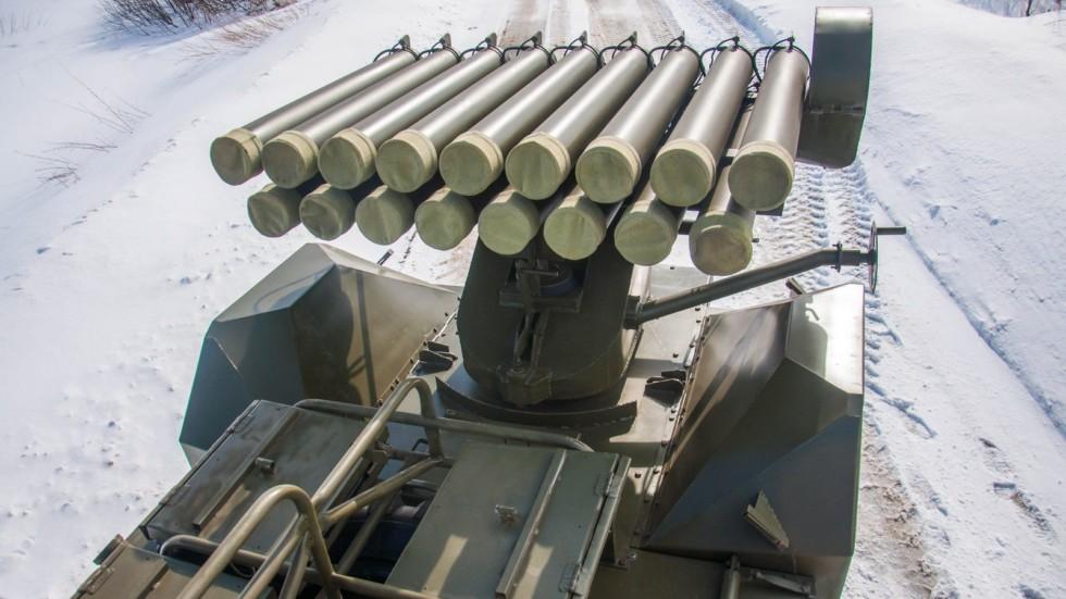 ГАЗ 63 реактивная система залпового огня