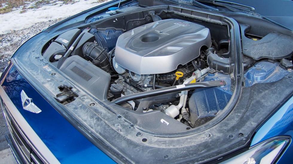 Genesis G80 двигатель (2)
