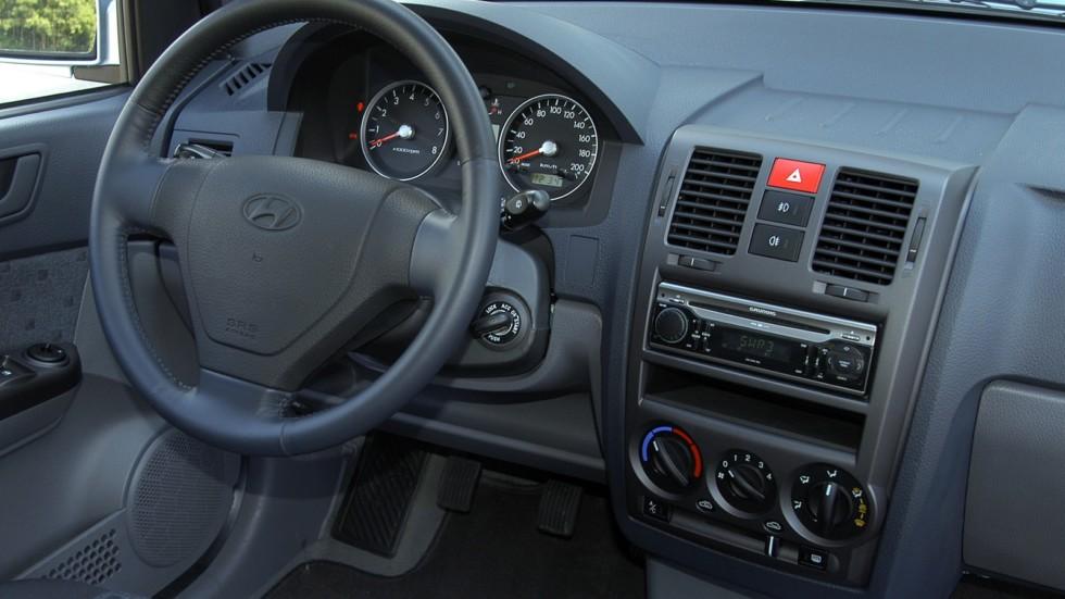 Hyundai Getz салон