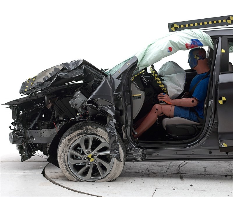 Hyundai Tucson краш тест