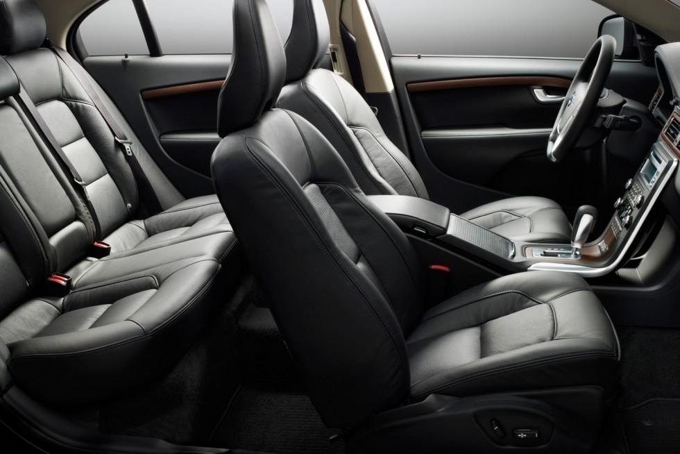 Интерьер Volvo S80 D5
