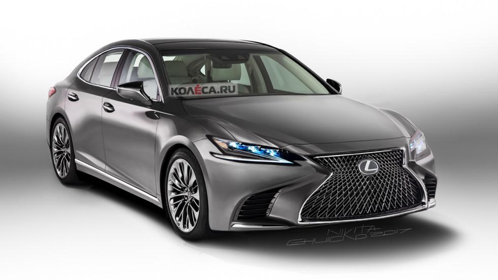 Lexus ES front1