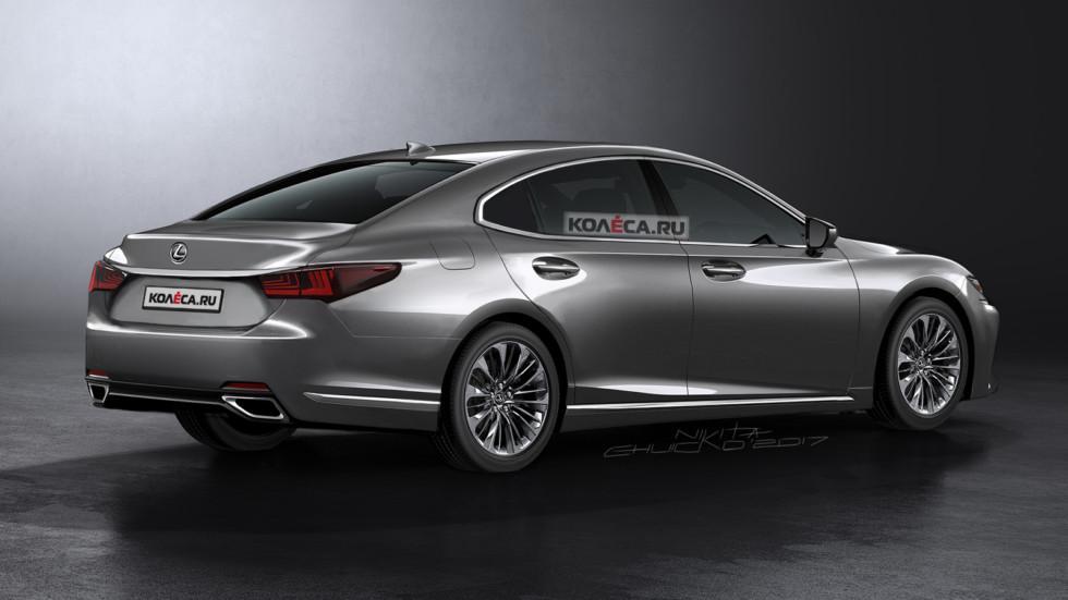 Lexus ES rear1