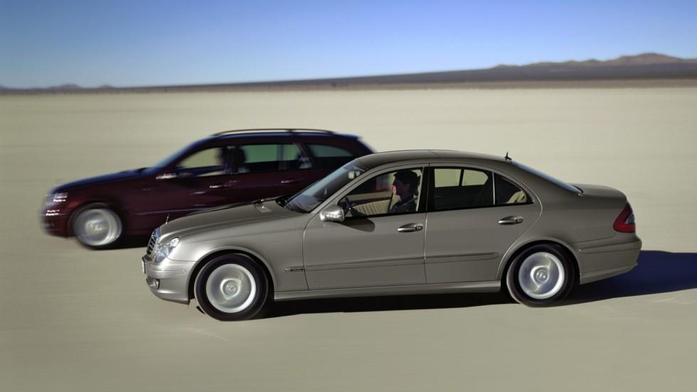 Mercedes-Benz E-Klasse (211) в движении