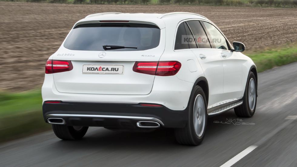 Рестайлинг Mercedes-Benz GLC 2019