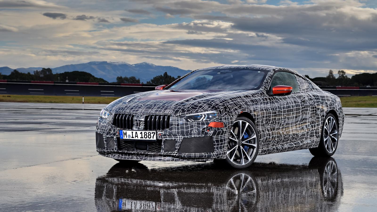 Компания BMW представит купе BMW 8-й серии 15июня