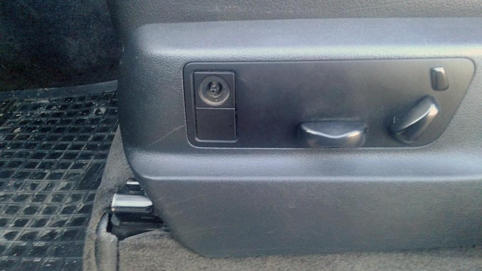 Porsche Cayenne регулировка сидения