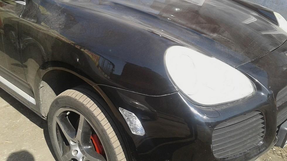 Porsche Cayenne правое переднее крыло