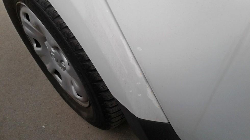 Renault Duster арки задних колес