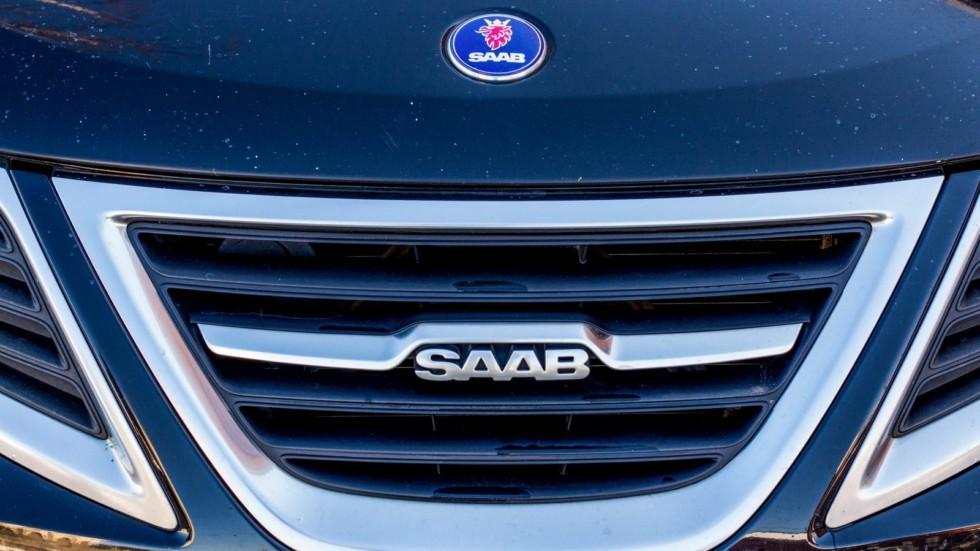 Saab 9-3 SportCombi решетка радиатора