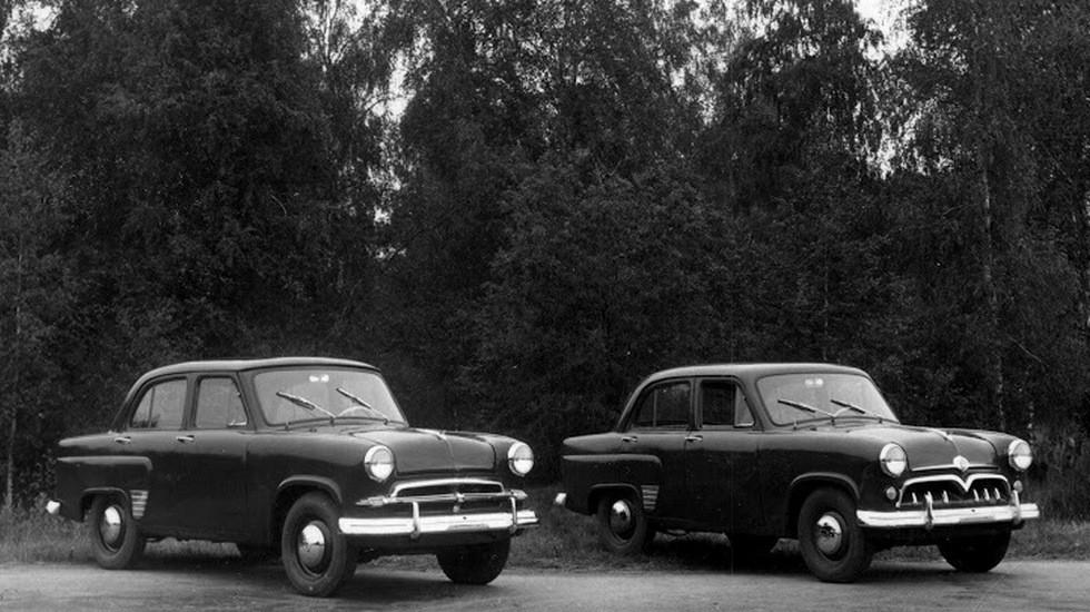 Так выглядели опытные образцы Москвичей 1954 г