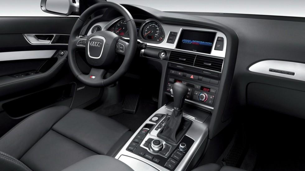 Audi A6 интерьер