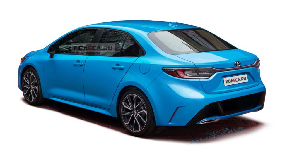 Toyota Corolla rear2