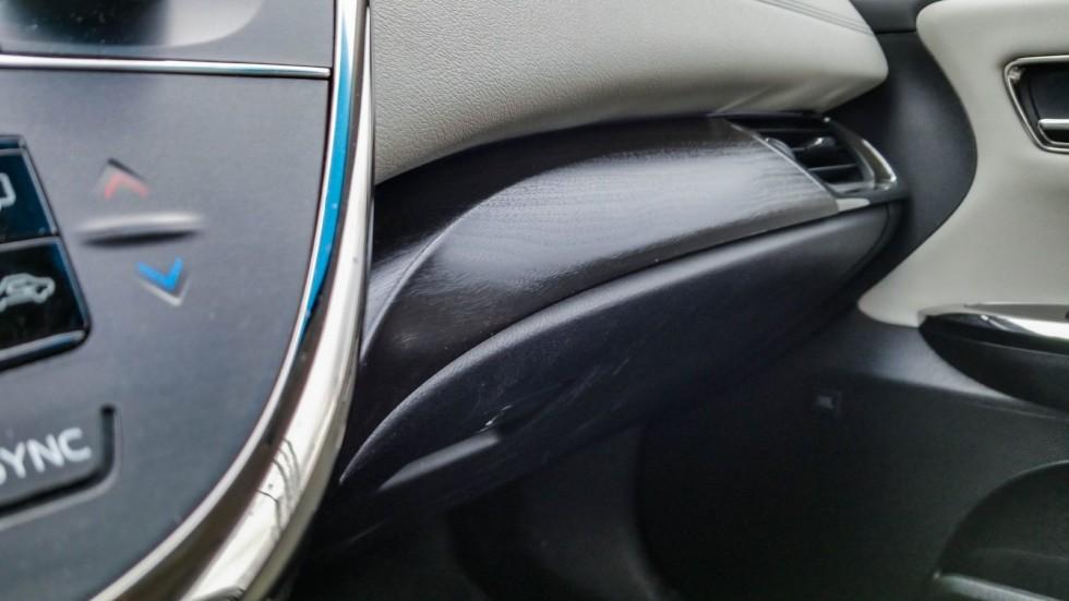 Toyota Avalon интерьер бардачок