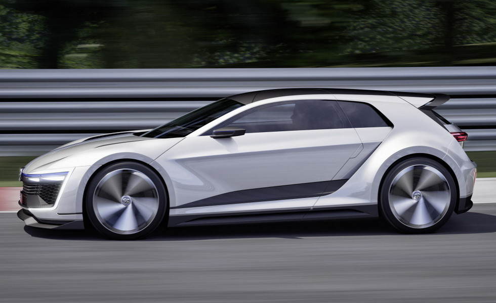 Концепт Volkswagen Golf GTE Sport 2015