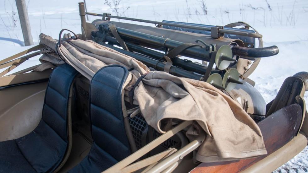 Volkswagen Type 166 Schwimmwagen пассажирские места