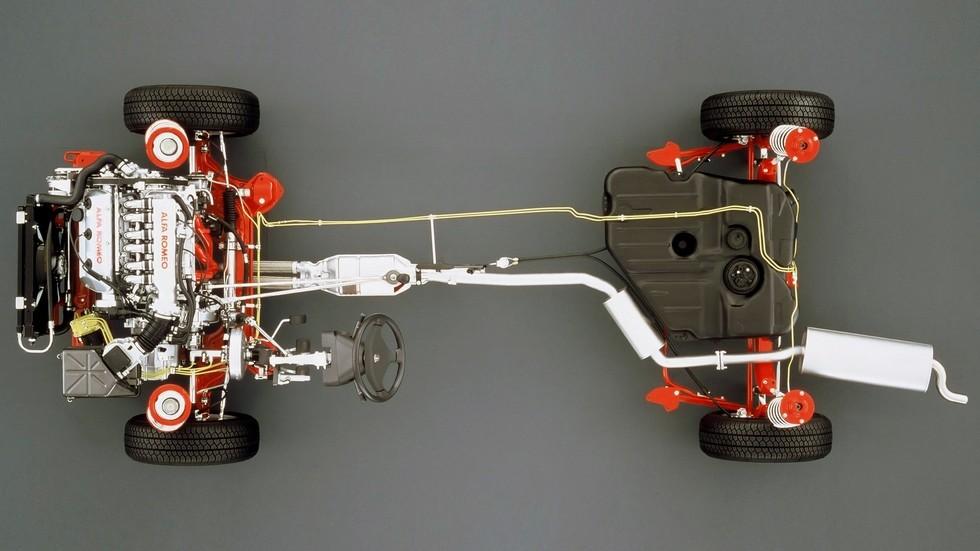 Alfa Romeo 164 платформа
