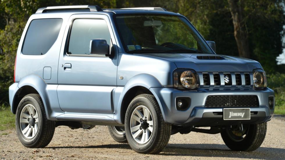 На фото: Suzuki Jimny