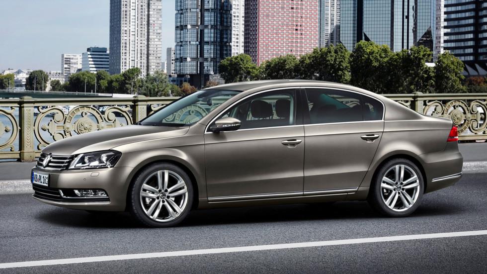 На фото: Volkswagen Passat