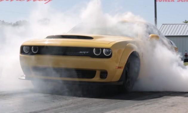 Dodge Demon получил 1 000-сильную прокачку от Hennessey