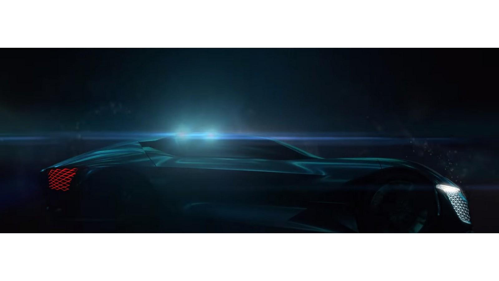 БрендDS продемонстрировал  силуэт электрокара для 2035-ого