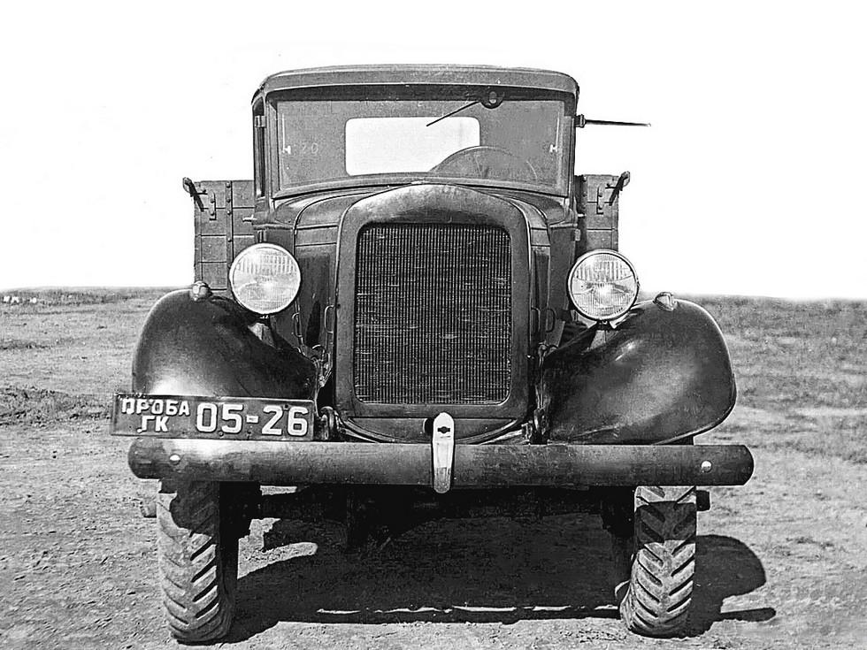 ГАЗ-63 '1939