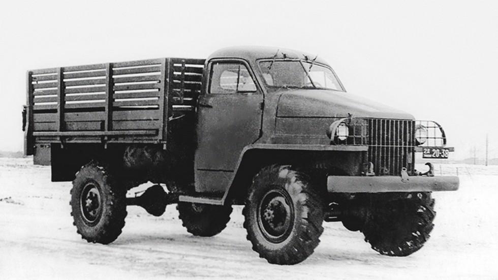 ГАЗ-63 '1943