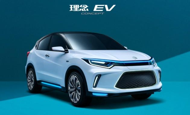 Хонда анонсировала 1-ый электромобиль Everus