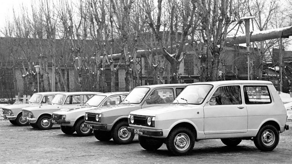 Разные автомобили ИЖ