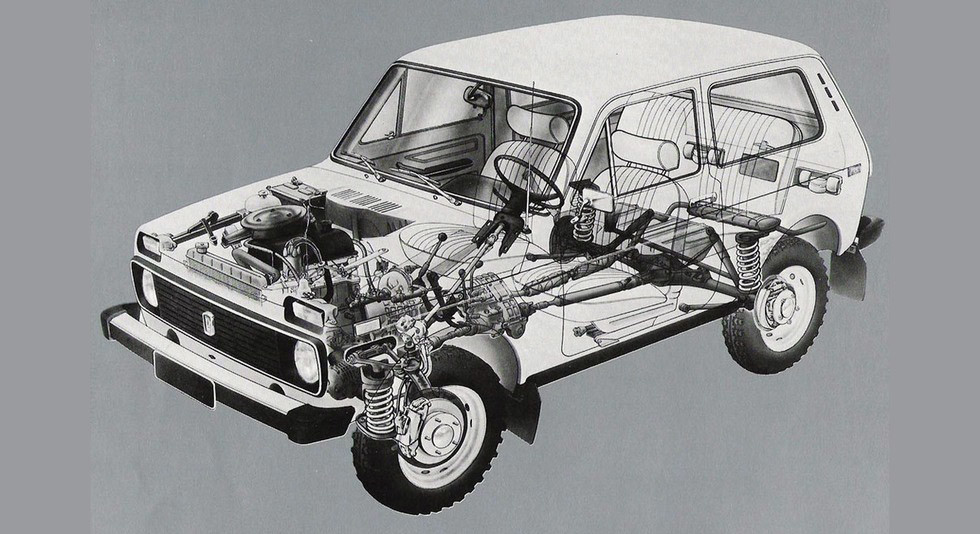 Lada Niva схема
