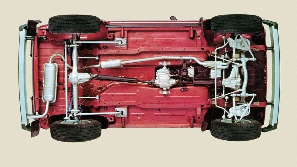 Lada Niva Limited Edition вид снизу