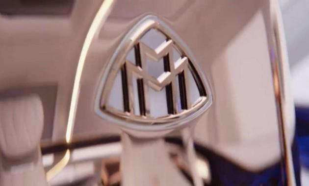 Чудный  концептуальный автомобиль  сзолотыми деталями готовит Mercedes-Maybach