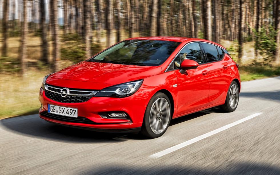 На фото: Opel Astra