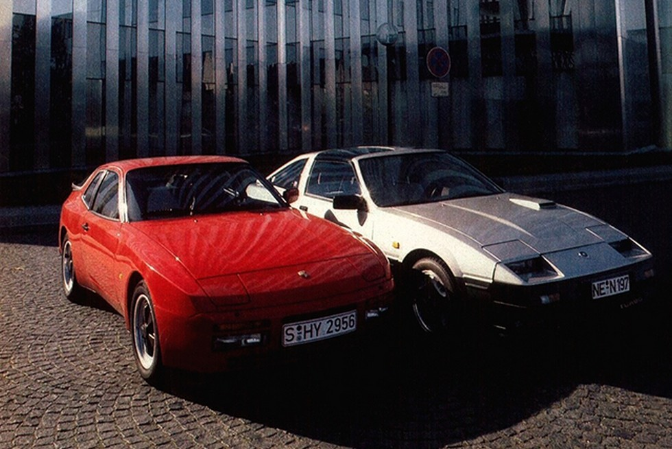 Nissan 300 ZX и porsche 924