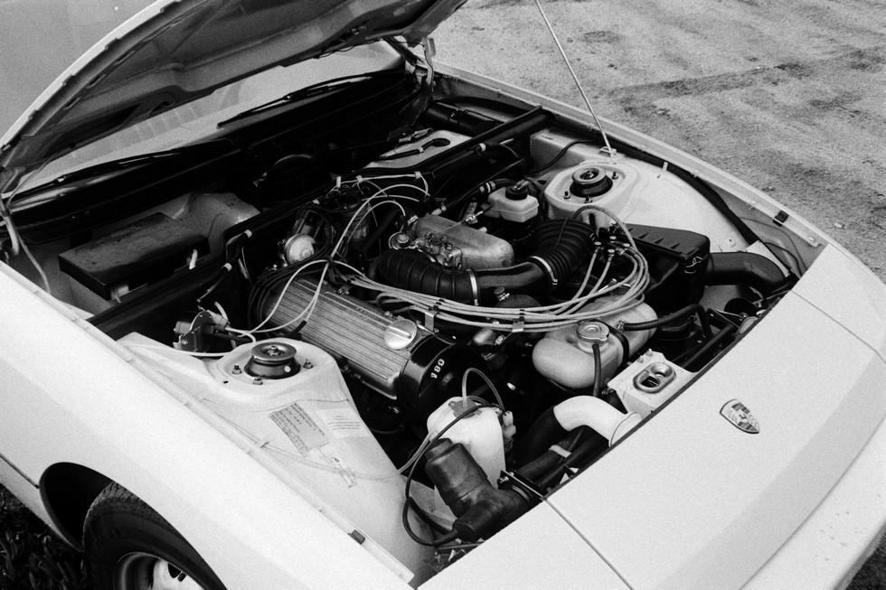 porsche 924 двигатель