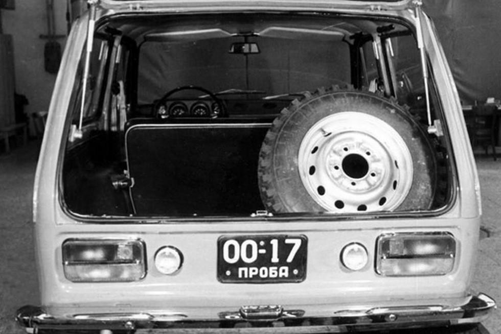 ВАЗ 2121 багажник