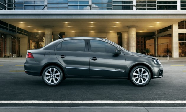 Первые фото обновленного бюджетного седана Volkswagen Voyage