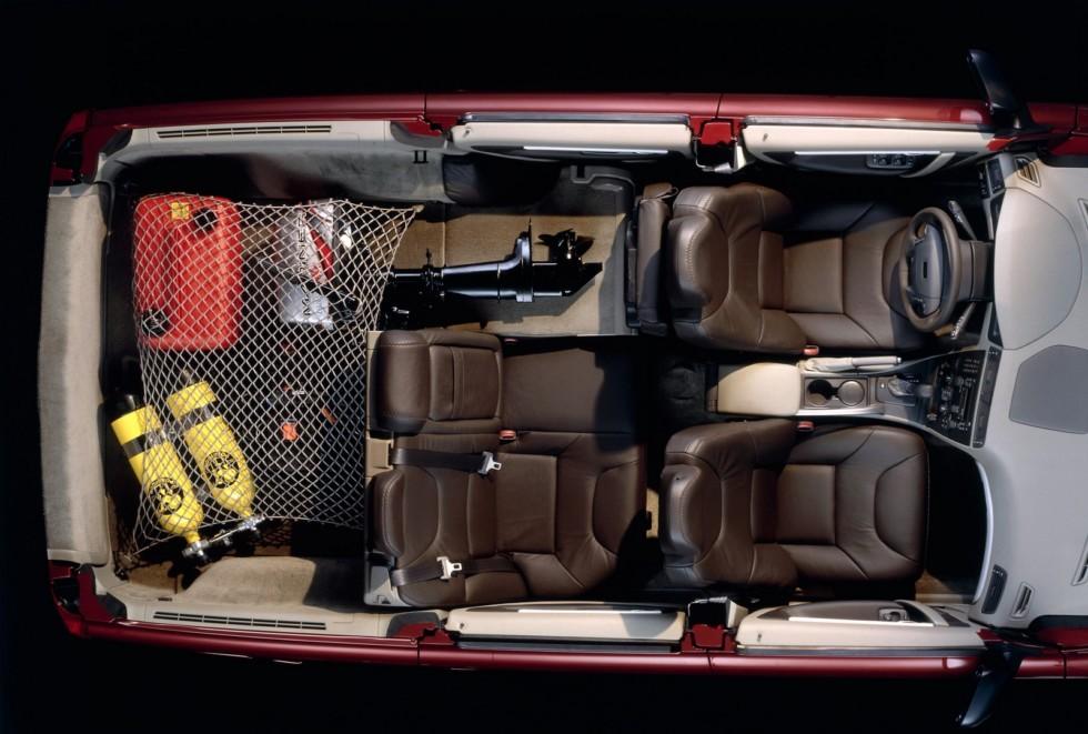 Volvo V70 XC салон