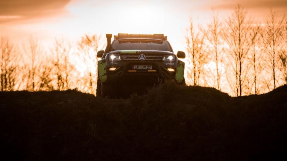Volkswagen Amarok подготовили для экстремального бездорожья